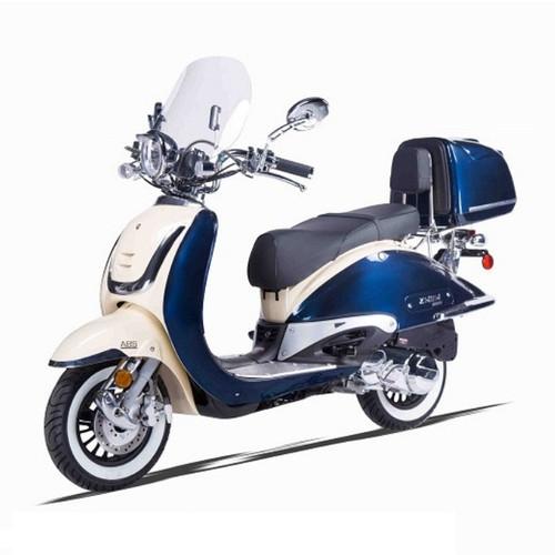 Amigo Znen IL BELLO-150 2 TONE 149cc Street Legal Scooter, 4 Stroke Air Cooled