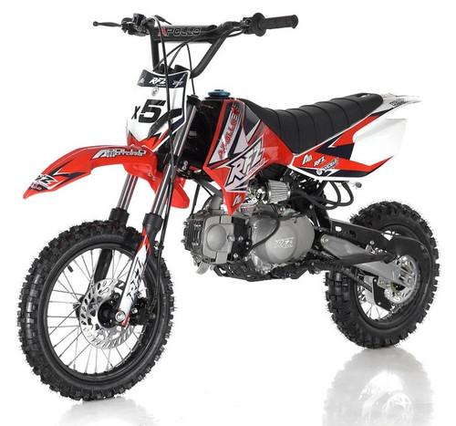 APOLLO DB-X5 125cc MANUAL SHIFT Dirt Bike, 4 stroke, Single Cylinder