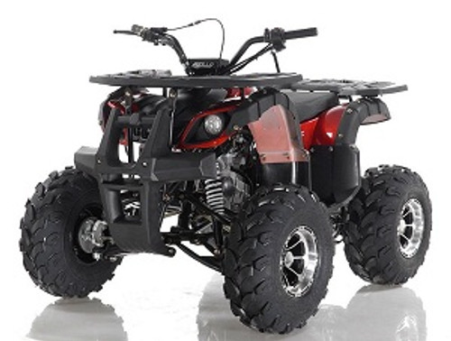 Apollo Focus-10 DLX 125cc ATV, Single Cylinder, Air Cooled, 4 Stroke 1Speed+Reverse - Fully Assembled and Tested