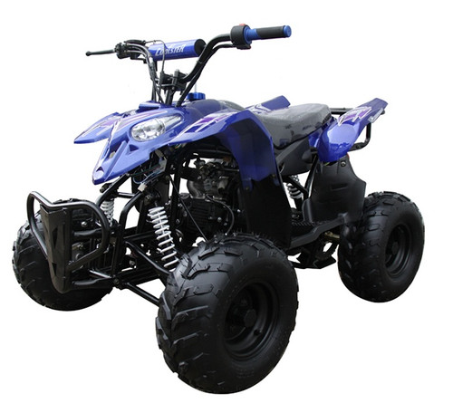 "Coolster 3050B 110cc ATV Sport ATV With Bigger 16"" Tires, Four-Stroke, Air-Cooled"