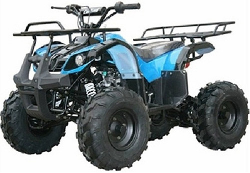 Coolster 3125XR8 Kodiak-Hd 125CC Mid Size ATV, Air Cooled, Single Cylinder, 4-Stroke Auto w/ Reverse