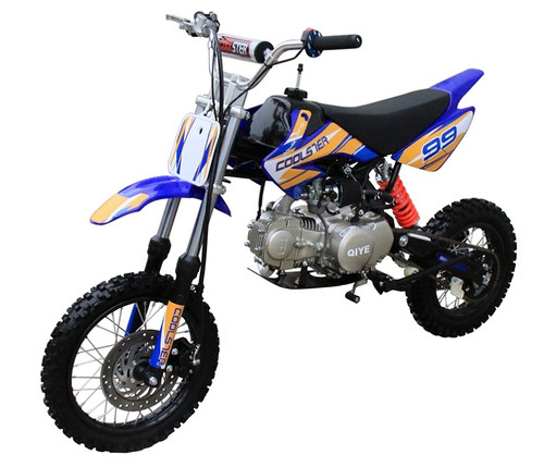 Coolster XR125 Dirt Bike, Semi-Auto, Air-Cooled Single-Cylinder Four-Stroke
