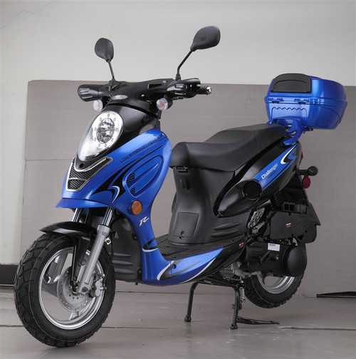 Cougar Cycle CHALLENGER 150cc Scooter, 4 Stroke, Air-Forced Cool,Single Cylinder