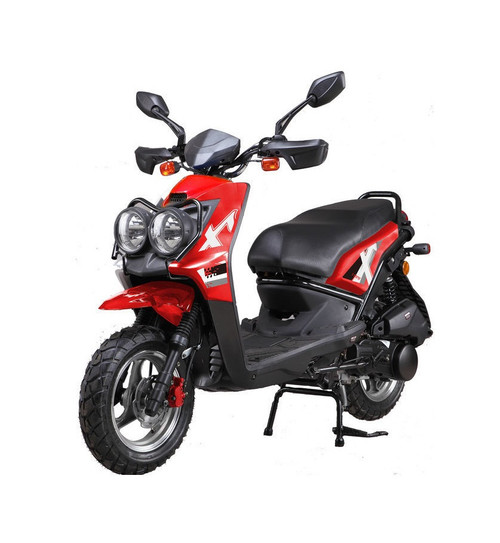 Vitacci ZUMA 50CC Scooter, 49.9cc CVT, Electric/Kick - Fully Assembled and Tested