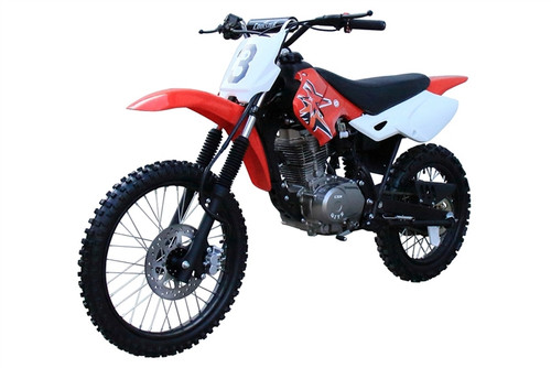 Coolster 200cc Full Size Manual Clutch Dirt Bike - QG-216