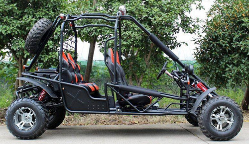 Donfang 169cc Spider Gokart 4 Seaters with Chrome Wheels