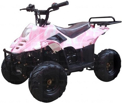 """ICE BEAR 110cc Youth ATV Fully Automatic w/ Remote Control, 6"""" Tires (PAH110-2), CARB APPROVED"""