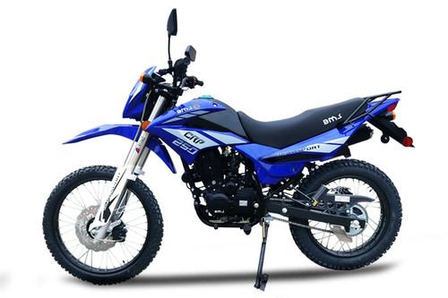 229cc Enduro Dirt Bike 5 Speed Manual w/ Electric/Kick Start Air Cool Engine- Nduro Bike 18C