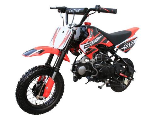 Coolster High End Dirt Bike Pit Bike QG-210 70CC, Air-Cooled Single-Cylinder Four-Stroke