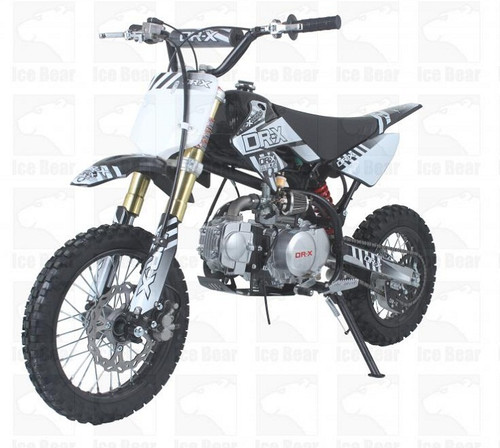 ICE BEAR ROOST USD (PAD125-1D) YX 125CC DIRT BIKE, 4-SPEEDS, KICK START