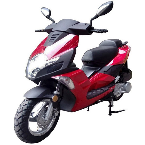 Roketa MC-140 150cc  Scooter, 4-Stroke, Single Cylinder, Air Cooled, Eletric /kick Start
