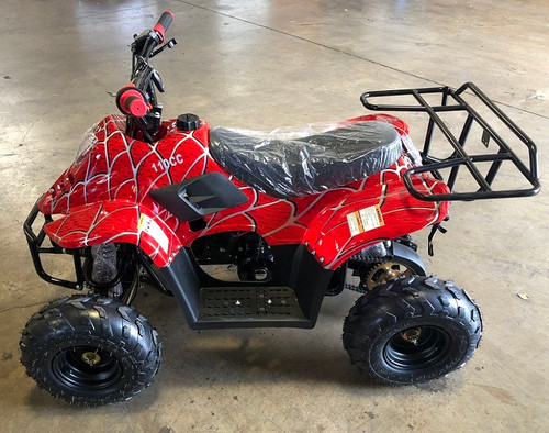 RPS 110CC Raider 6 Kids Air Cool, Single Cylinder, 4-Stroke ATV