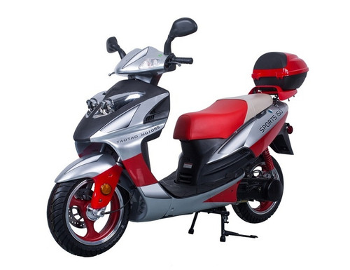 TAOTAO GALAXY 150CC ELECTRIC START, KICK START BACK UP GAS SCOOTER CA LEGAL