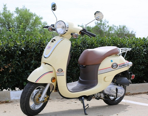 Trail Master Milano 50A Stylish Design Scooter Street Legal with Electric and Kick Start