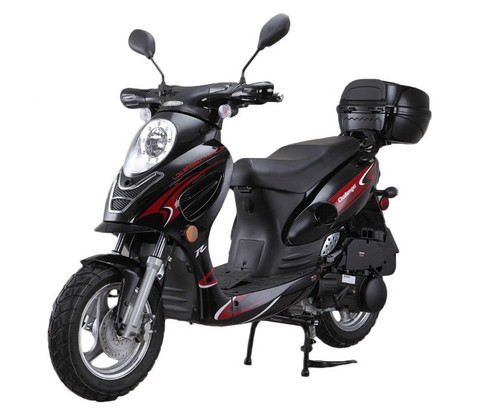 VITACCI  Challenger 50cc Scooter, 4 Stroke, Air-Forced Cool,Single Cylinder - Fully Assembled and Tested