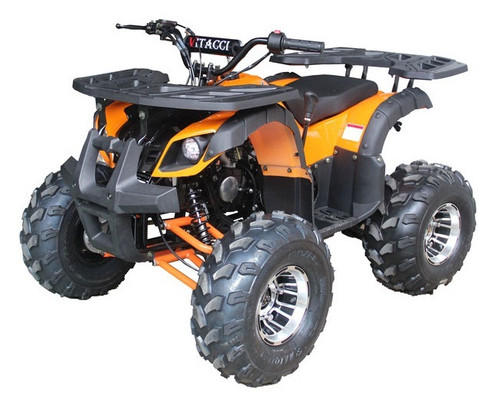 VITACCI RIDER-10 DLX 125CC ATV, AUTO WITH REVERSE, HAND SHIFTER, ALLOY WHEELS, SINGLE SYLINDER,4 STROKE - FULLY ASSEMBLED AND TESTED