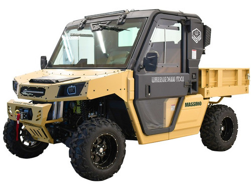 Massimo Warrior 1000 MXU HVAC LSV UTV, Four Stroke 2 Cylinder