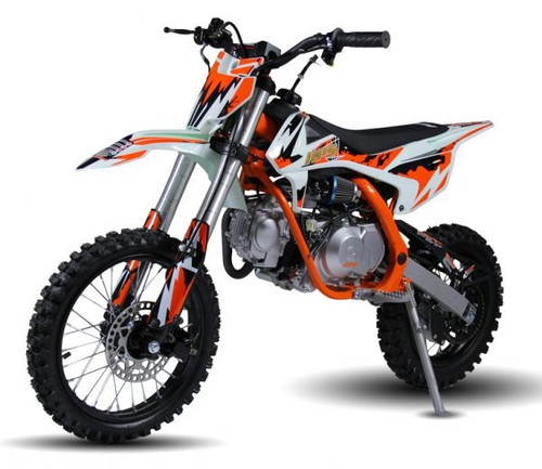 Jasscol XB-27 90cc Dirt Bike, Single Cylinder, 4 Stroke, Air-Cooling