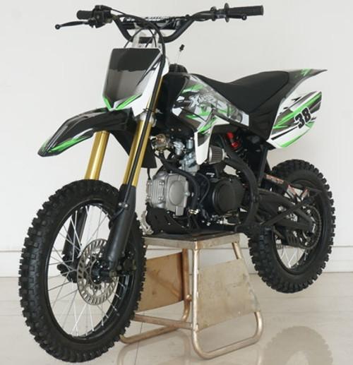 RPS XMOTO 125CC DELUXE Manual Dirt Bike With Twin Tube Cradle Perimeter