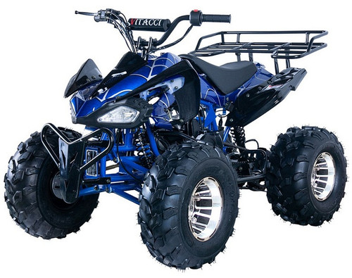 New Vitacci JET-10 DLX 125cc ATV, Alloy Wheels Auto with Reverse