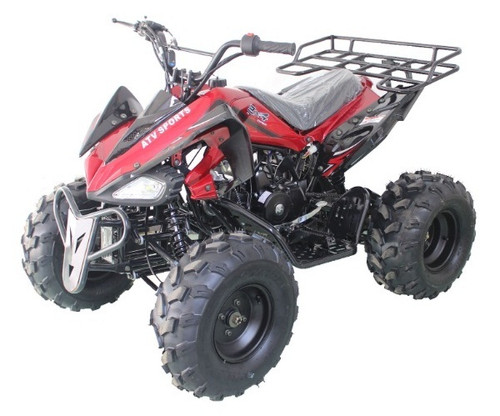 RPS High End JET-9 125cc ATV w/Steel Rims, Single Cylinder, 4 Stroke
