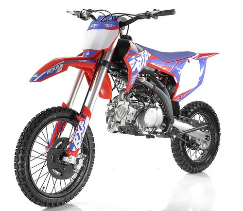 "Apollo RXF 150 Freeride 140cc Dirt Bike, Manual Transmission, (17""/14"") Tires"
