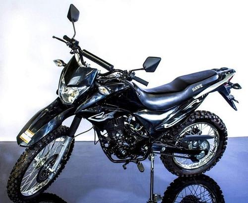 New Hawk 250cc Dirt Bike Dual Sports Enduro Street Legal With Bluetooth Speaker and Phone Holder
