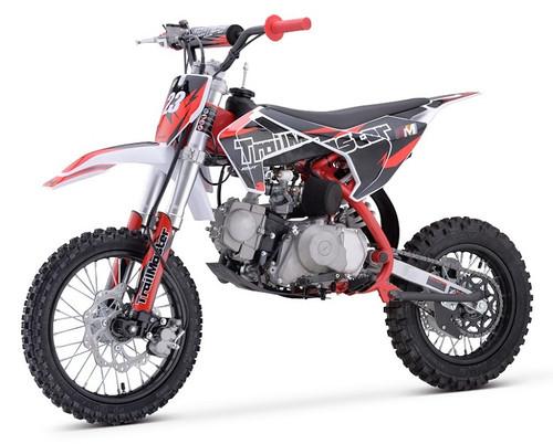 Trailmaster TM23 125cc Dirt Bike, Electric and Kick Start, Automatic Clutch
