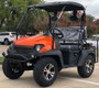Orange - Fully Loaded Cazador OUTFITTER 200 Golf Cart 4 Seater UTV