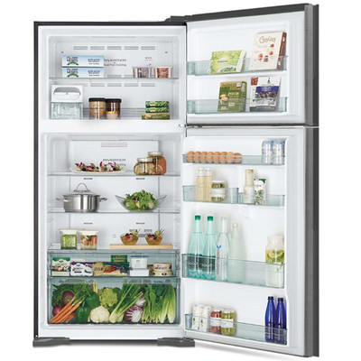 Hitachi 565L 2-Door Refrigerator (R-V610PT7)