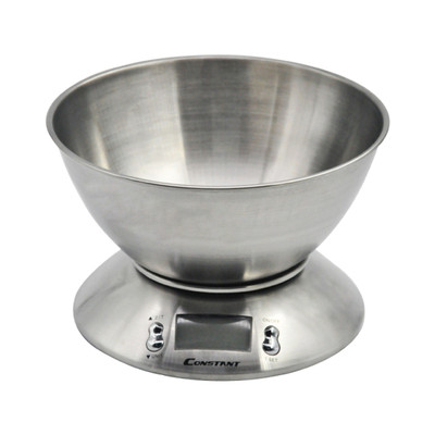 CONSTANT Digital Kitchen Scale with Bowl (14192-79B)