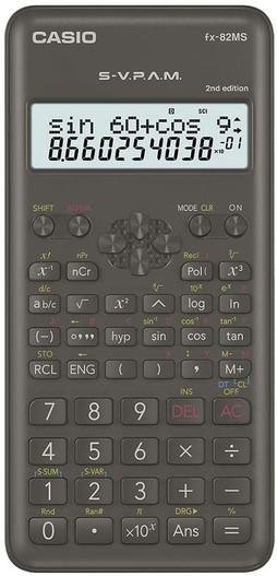 CASIO 12 Digit Scientific Calculator (FX-82MS)