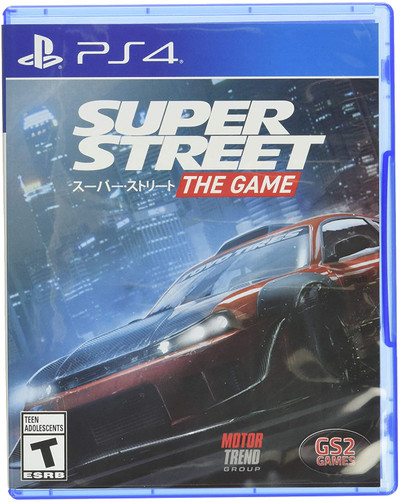 PS4 Super Street The Game