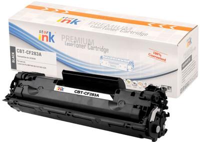 STAR INK Compatible CF283A Black Toner for HP (CBT-CF283A)