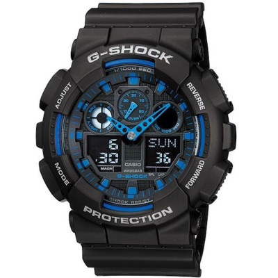CASIO G-Shock Watch (GA-100-1A2