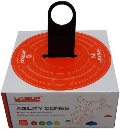 LIVEUP 20pcs Agility Disc Cones Set (LS3672)