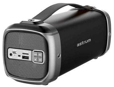 ASTRUM Deep Bass Wireless Bluetooth Portable Barrel Speaker (Black) (SM360)