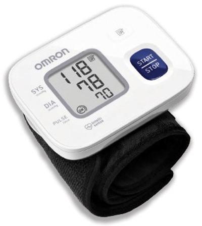 OMRON Wrist Blood Pressure Monitor (HEM-6161)