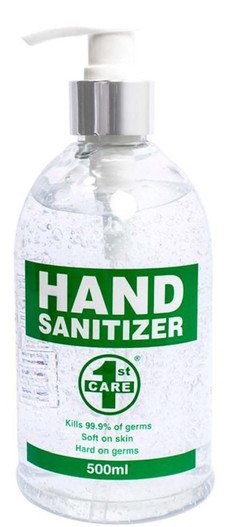 1ST CARE Hand Sanitizer 500ml (242962)