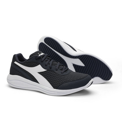 DIADORA Mens Eagle 4 Running Shoes  - Navy/White (176888)