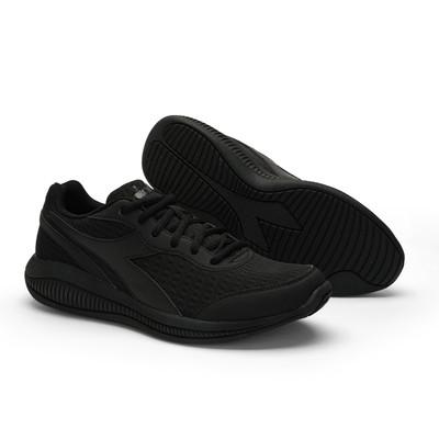 DIADORA Mens Eagle 4 Running Shoes  - Black/Black(176888)