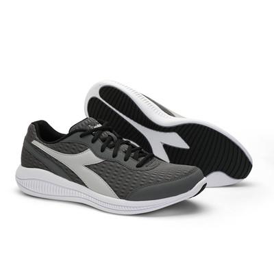 DIADORA Mens Eagle 4 Running Shoes  - Quiet Shade/Silver/White (176888)