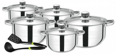 ROYALFORD 12pc Stainless Steel Cookware Set (RF9352)