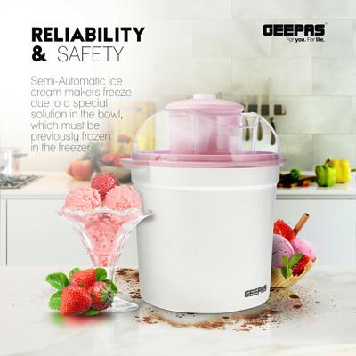 GEEPAS Ice Cream Maker (GIM63027UK)