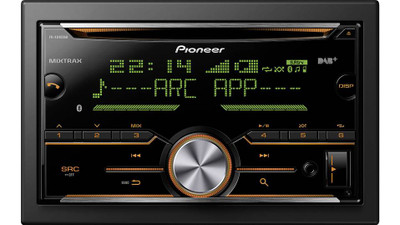 PIONEER 2 Din Car CD Player with Bluetooth (FH-X840DAB)