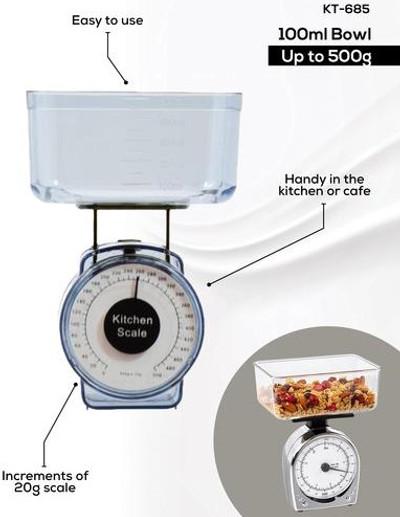 DURACHEF 500g Mini Kitchen Scale (KT-685)