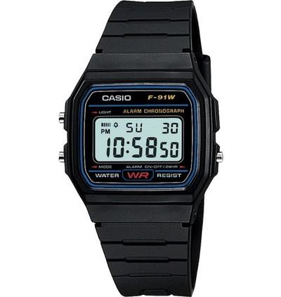 CASIO Gents Watch (F91W-1D)