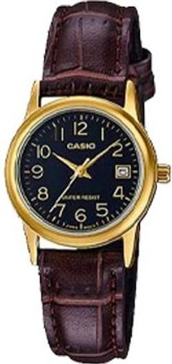 CASIO Ladies Watch (LTP-V002GL-1B)