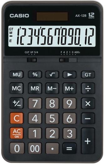 CASIO 12 Digit Desktop Calculator (AX-12B)