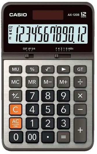 CASIO 12 Digit Desktop Calculator (AX-120B)